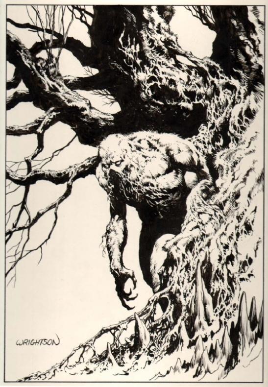 bernie wrightson swamp thing