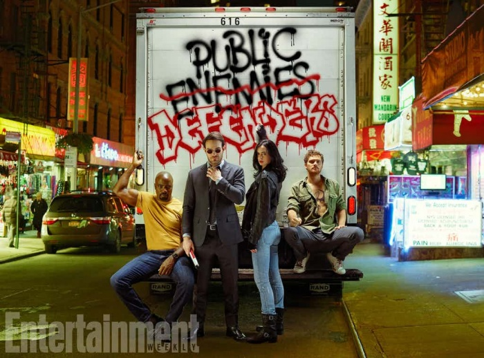 Iron Fist The Defenders Netflix