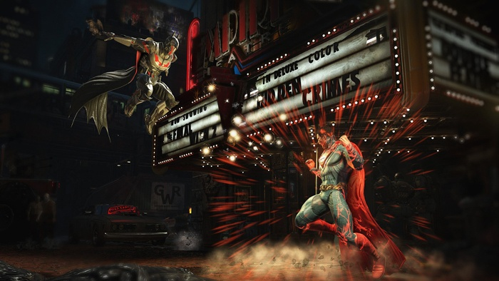 injustice batman superman