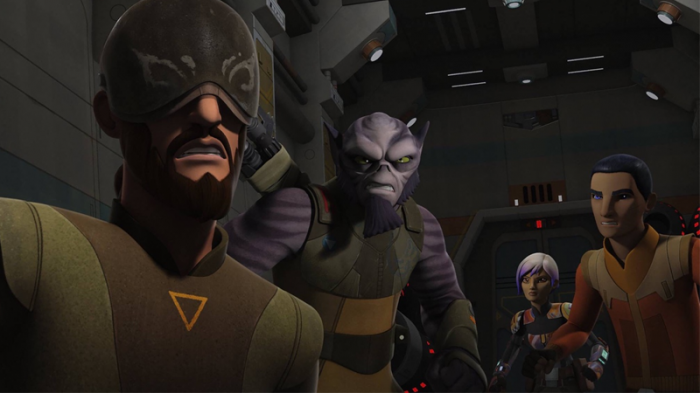 Star Wars Rebels Disney 4 Temporada