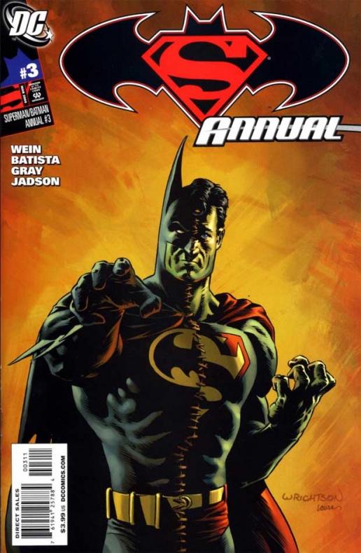 wrightson superman batman annual cover