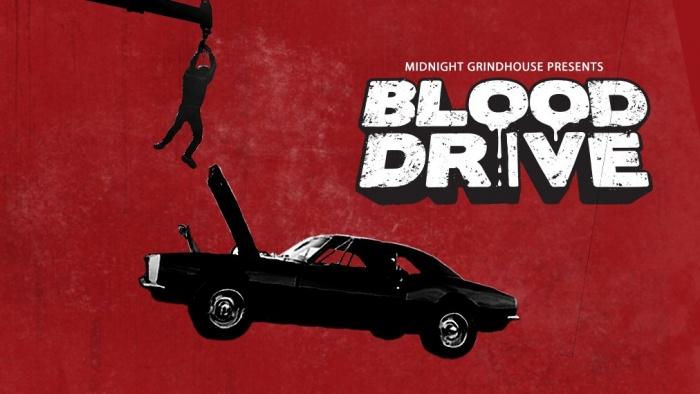 BLOOD DRIVE tráiler oficial póster