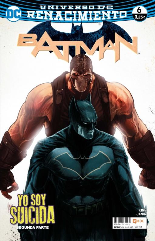 Batman 61 6 ecc portada
