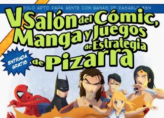 V Salón del Cómic, Manga y Juegos de Estrategia de Pizarra 2017