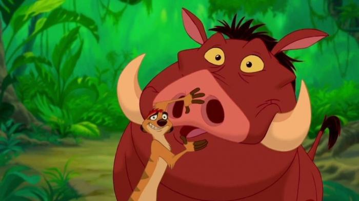 El Rey León Timon y Pumba Seth Rogen Billy 002