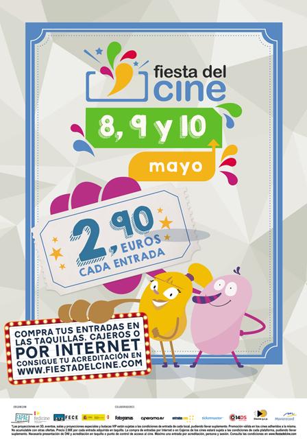 La Fiesta del Cine 2017 mayo