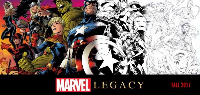 Marvel Legacy Cover by Joe Quesada