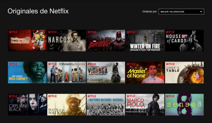 Netflix Series Originales