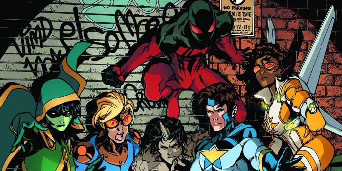 New Warriors Freeform Marvel 000