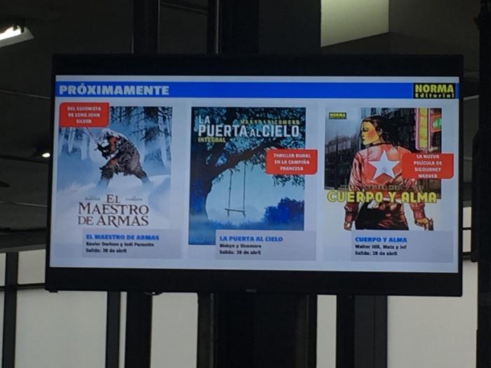 Norma Comics 35 Salón Internacional del cómic de Barcelona 001