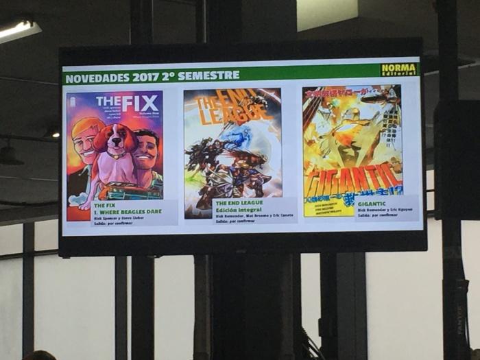 Norma Comics 35 Salón Internacional del cómic de Barcelona 005