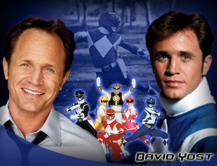 Power Rangers David Yost Ranger Azul 002