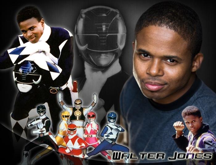 Power Rangers Walter Jones Ranger Negro