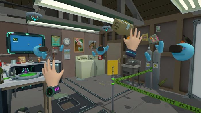 Rick and Morty Virtual Rick ality 001
