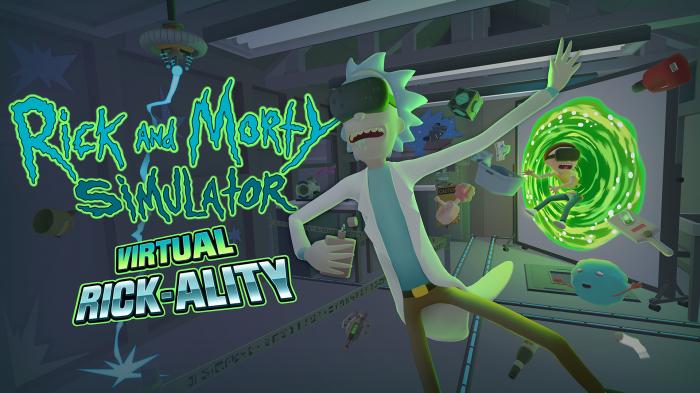 Rick and Morty Virtual Rick ality destacada