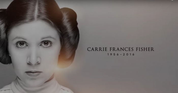 SWCO Star Wars Tribute Carrie Fischer Lucasfilm Disney