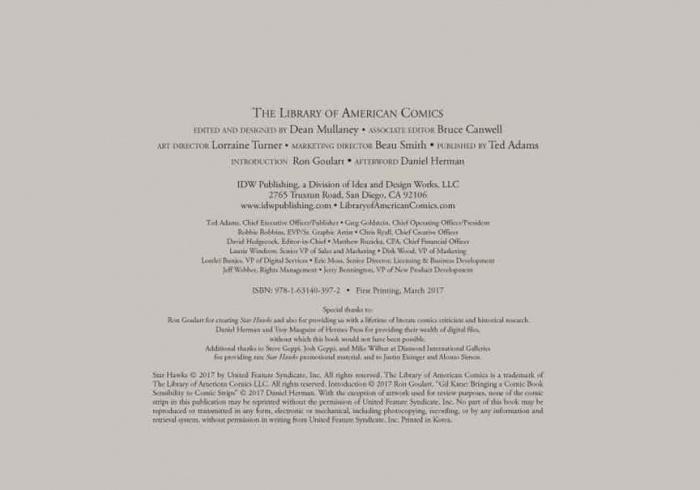 Star Hawks Vol.1 HC Goulart
