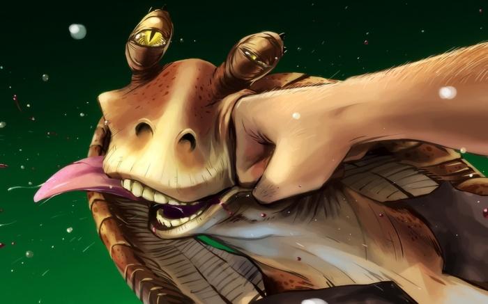 Star Wars Battlefront 2 Jar Jar Binks