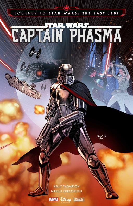 Star Wars Captain Phasma Marvel Comics Lucasfilm Disney