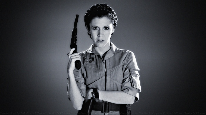 Star Wars Carrie Fisher 00