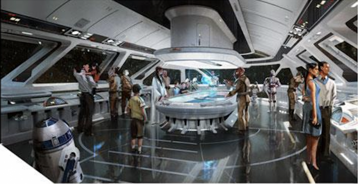 Star Wars Luxury Starship