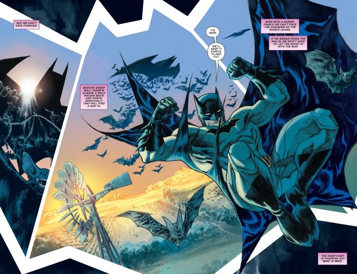 Trinity 1 DC Comics Rebirth spoilers Superman Batman Wonder Woman 4