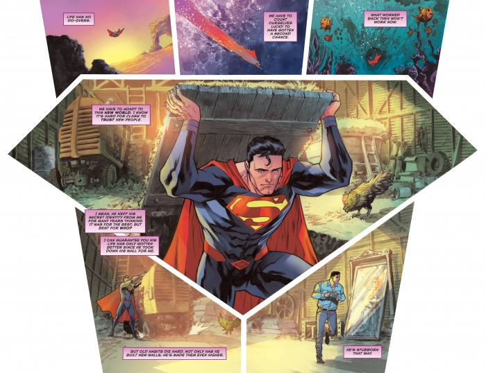 Trinity 1 DC Comics Rebirth spoilers Superman Batman Wonder Woman 5