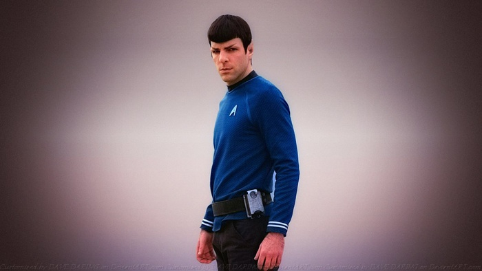 Zachary Quinto Spock