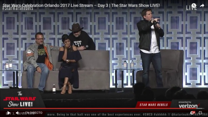 SWCO - Star Wars Rebels panel - Ahsoka Lives! 01