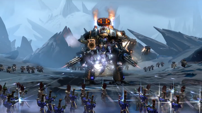 warhammer 40000 dawn of war e3 2016 gameplay reveal