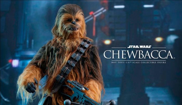Hot Toys presenta una figura edición limitada de Chewbacca de 'El despertar de la Fuerza'