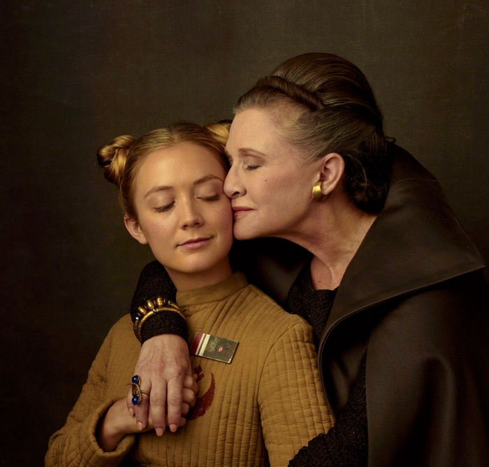 El episodio IX de Star Wars iba a ser la película de Carrie Fisher