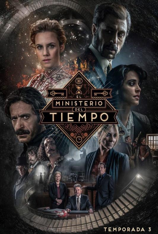 Póster Oficial de la 3ª temporada de 'El Ministerio del Tiempo'