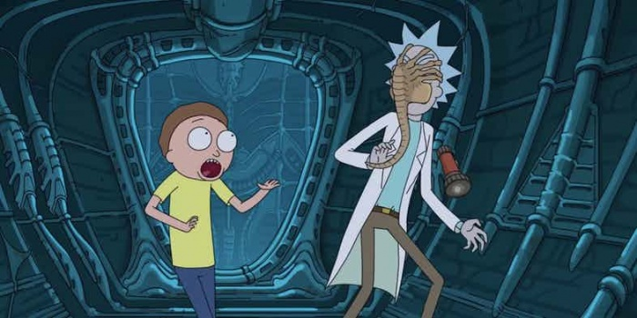 Crossover semioficial de 'Rick and Morty' y 'Alien: Covenant'