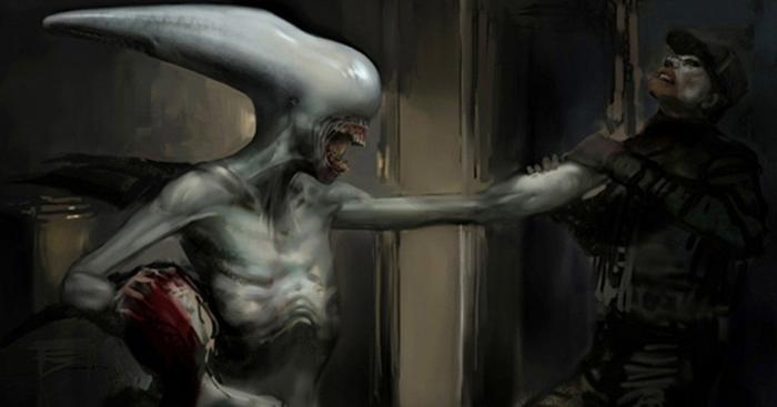 Alien ataca