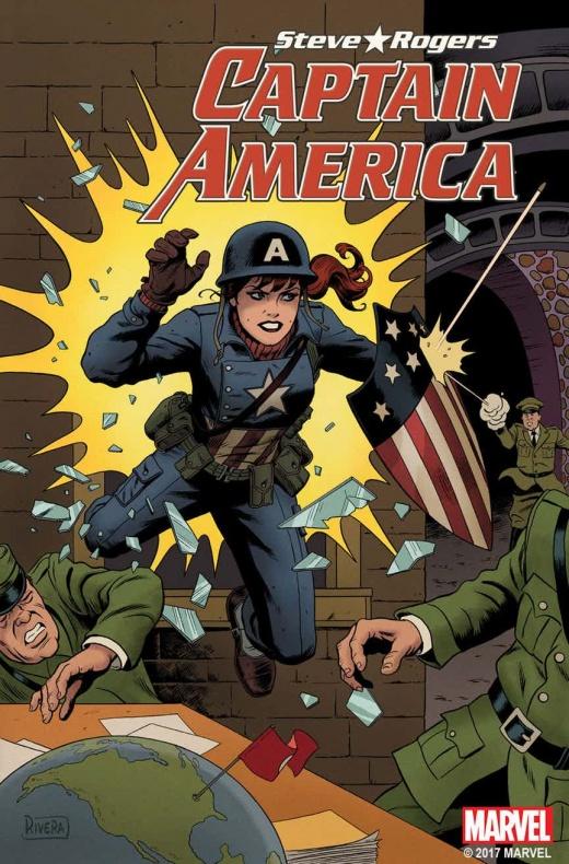 Cap America MJ Variant