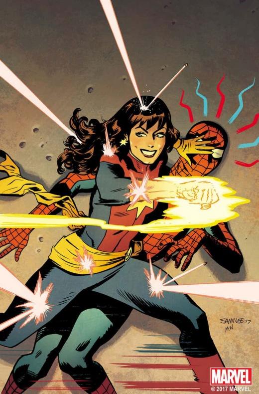 Cap Marvel MJ Variant