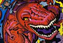 Dinosaurio Diabólico Jack Kirby