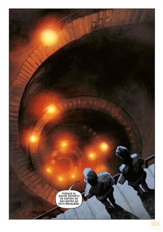 El Ministerio del Tiempo - cómic 01