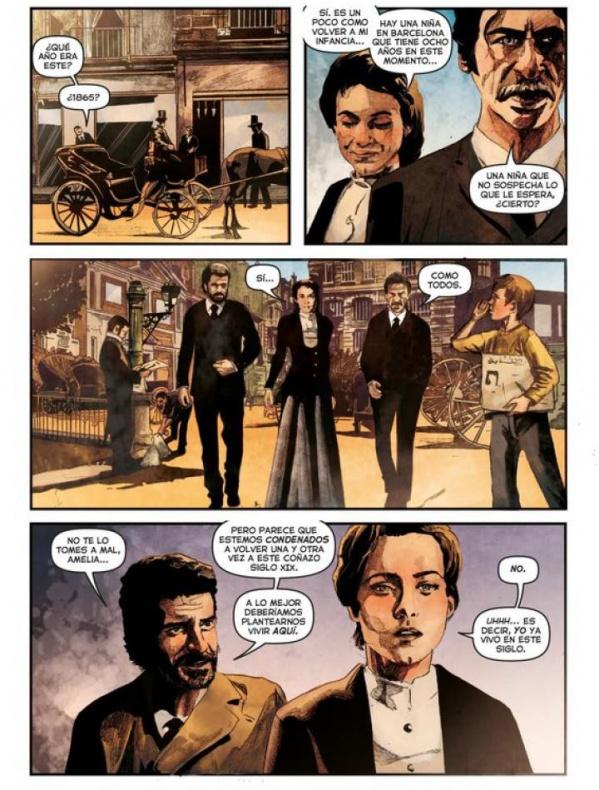 El Ministerio del Tiempo - cómic 02