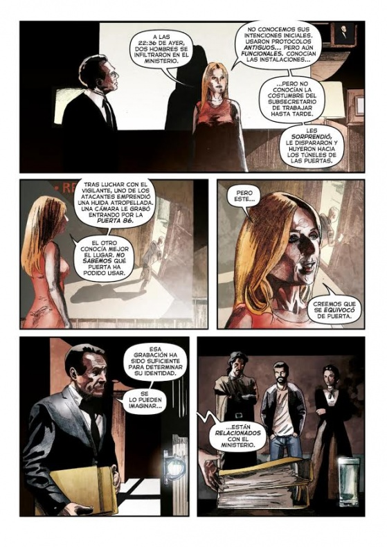 El Ministerio del Tiempo - cómic 03