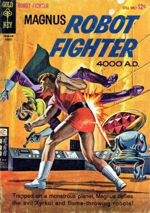 Fox Magnus Robot Fighter