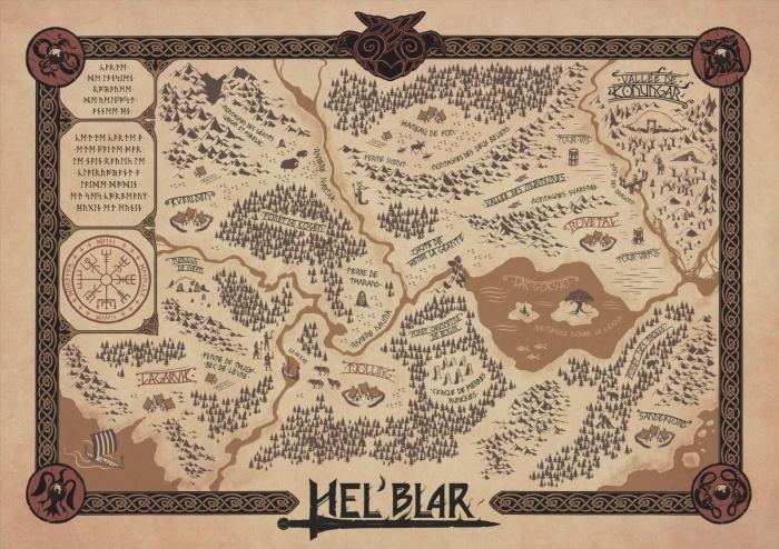 HEL'BLAR mapa