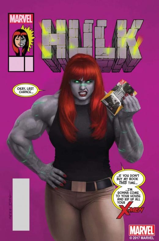 Hulk MJ var