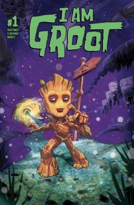 I Am Groot 1 Cover