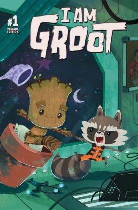 I Am Groot 1 Night Night Groot Variant