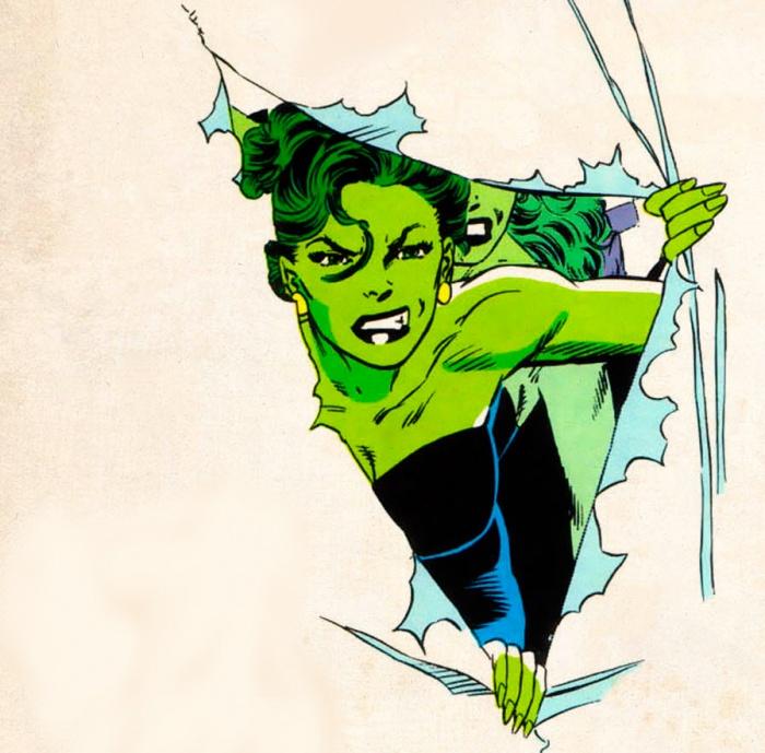 La sensacional Hulka de John Byrne 002