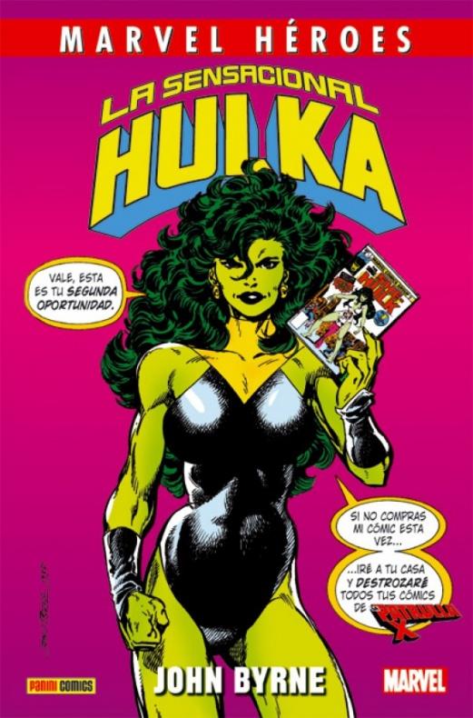 Marvel Héroes 78 La sensacional Hulka de John Byrne 000 1