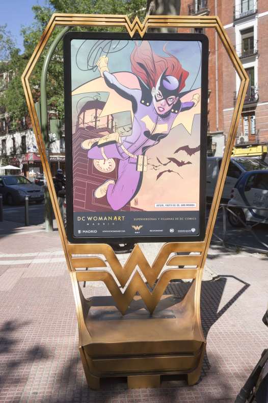 Madrid se convierte en la ciudad de Wonder Woman