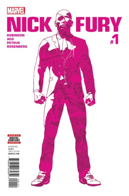 Nick Fury portada